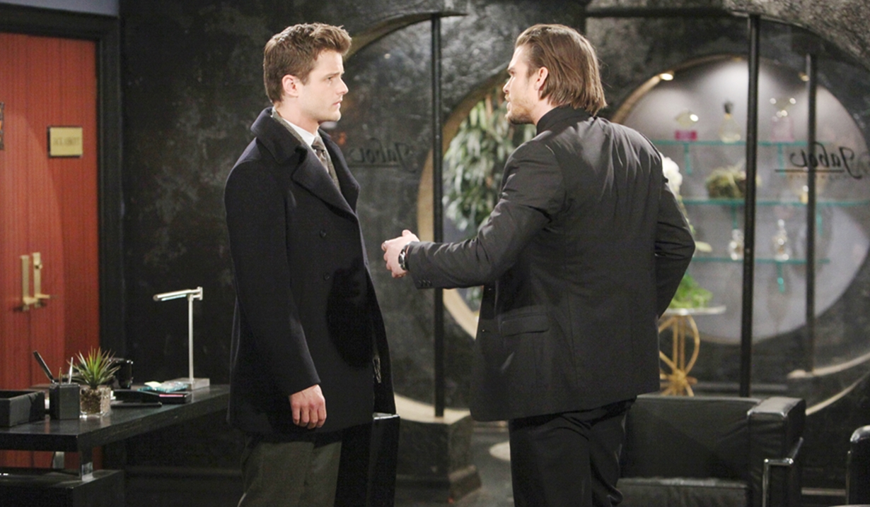 Kyle, Theo square off Young and Restless