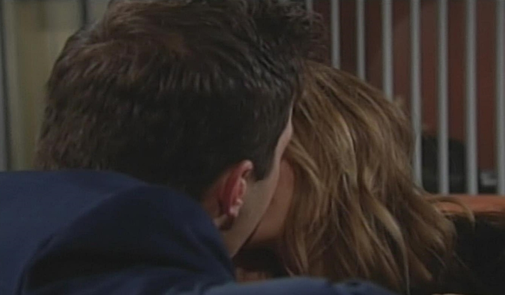 Kyle, Summer kiss Young and Restless