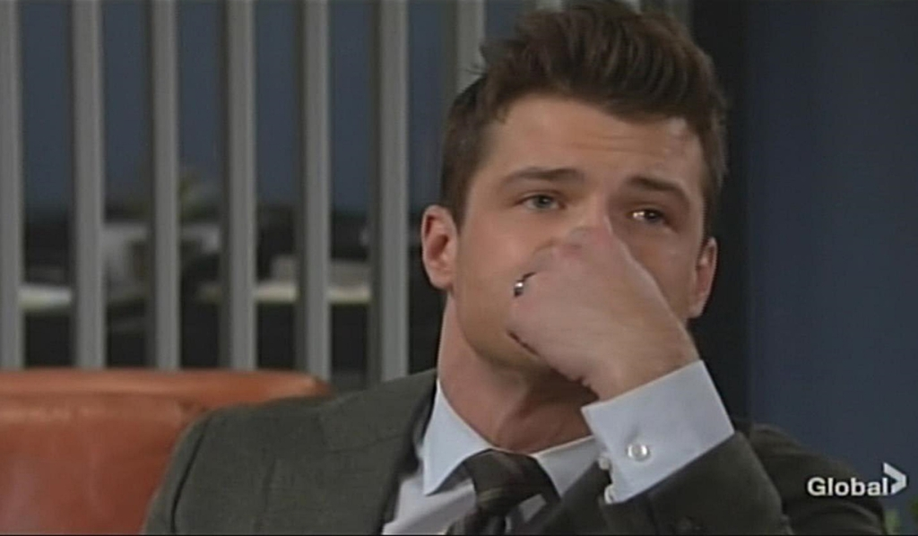 Kyle talks to Jack Young and Restless