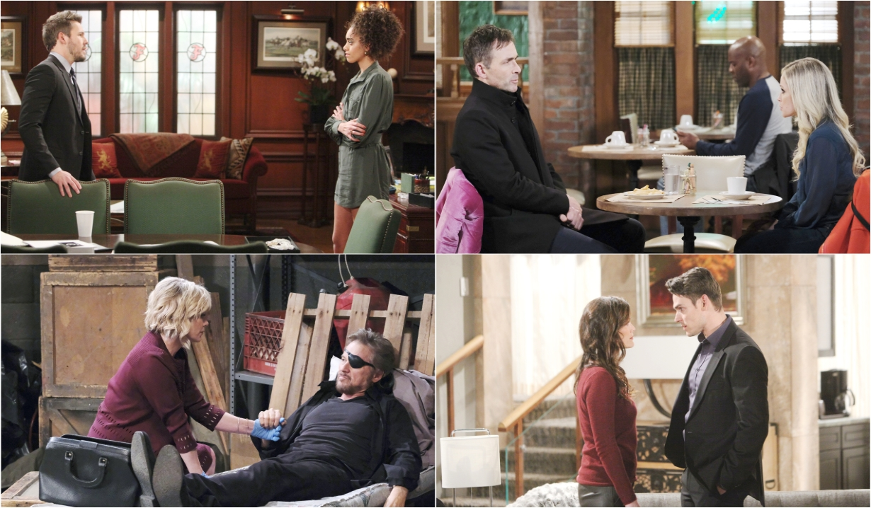2-17-20 spoilers for bold and beautiful days of our lives general hospital young and restless