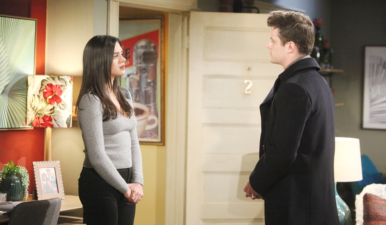 Lola, Kyle apartment Young and Restless