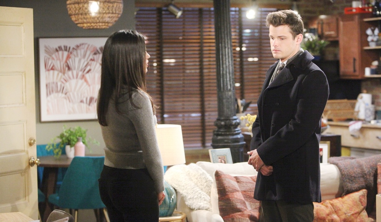 Lola, Kyle contrite Young and Restless