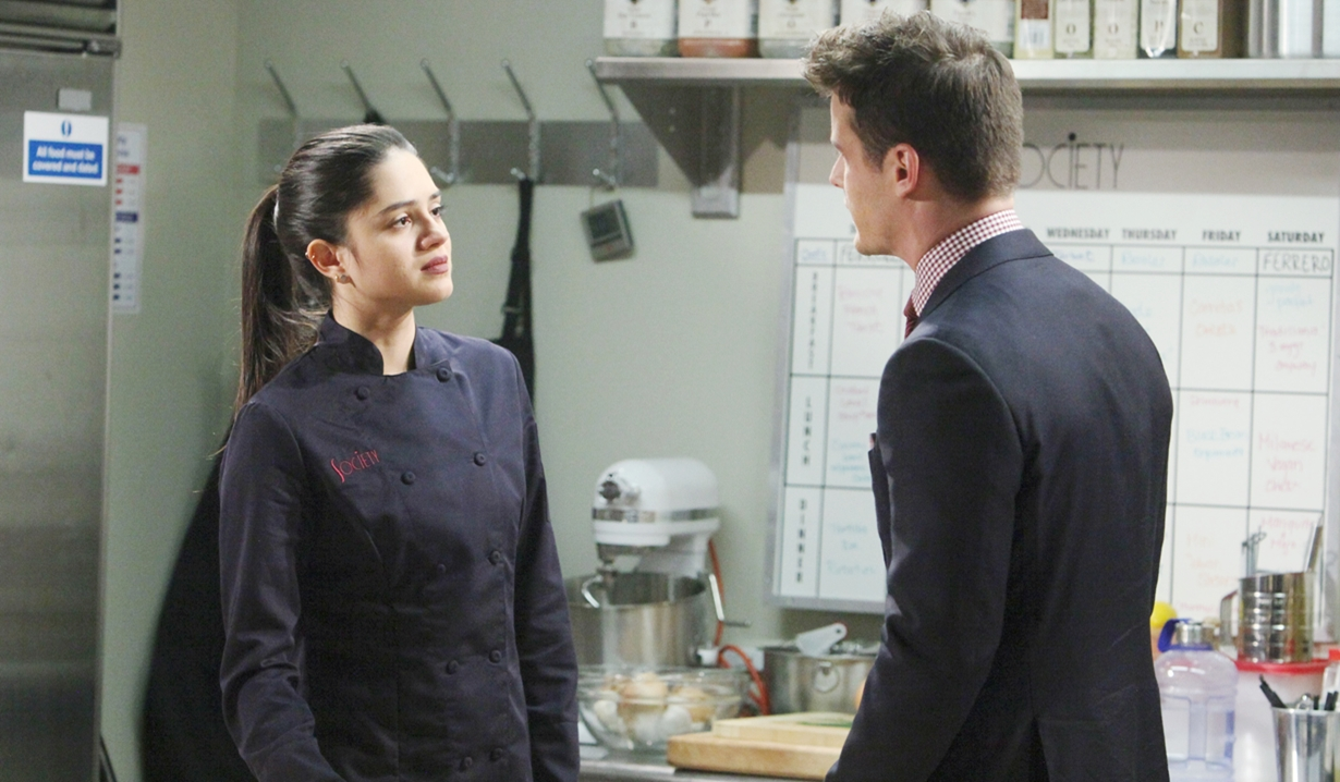 Lola, Kyle kitchen honesty Young and Restless