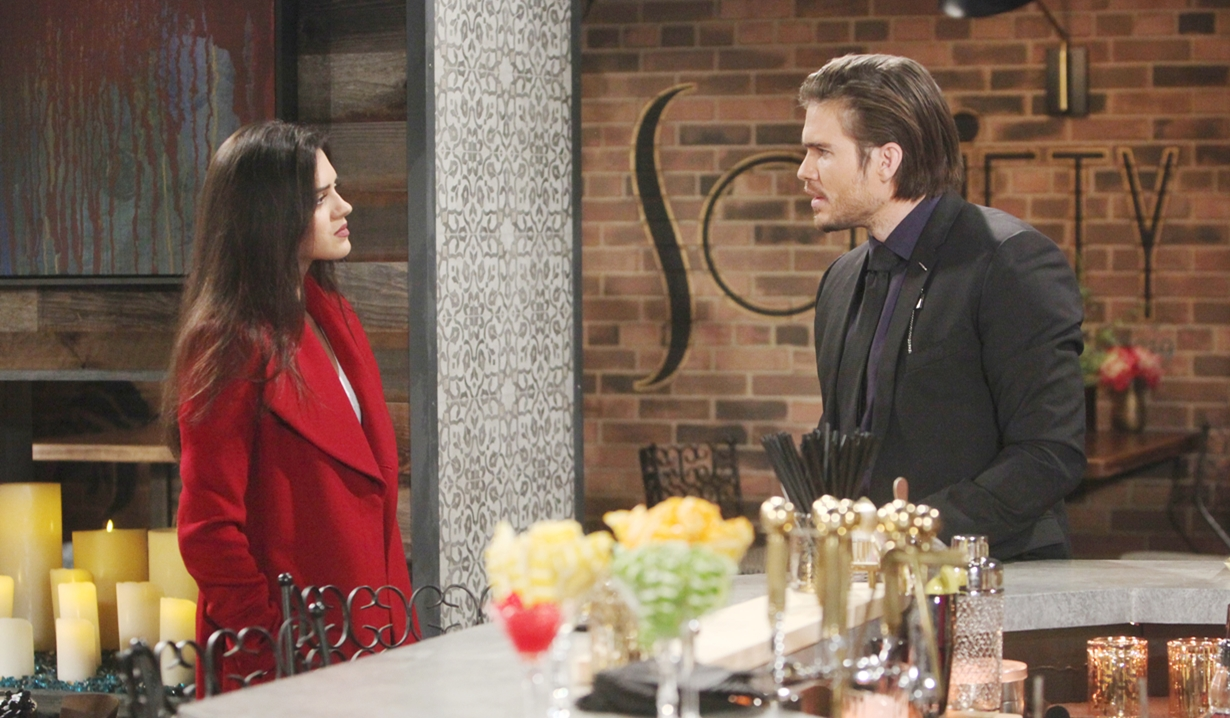 Lola, Theo at Society Young and Restless