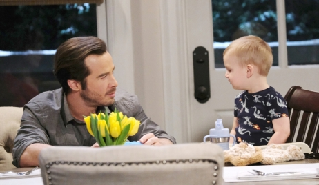 Lucas talks to Wiley about future at Corinthos house General Hospital
