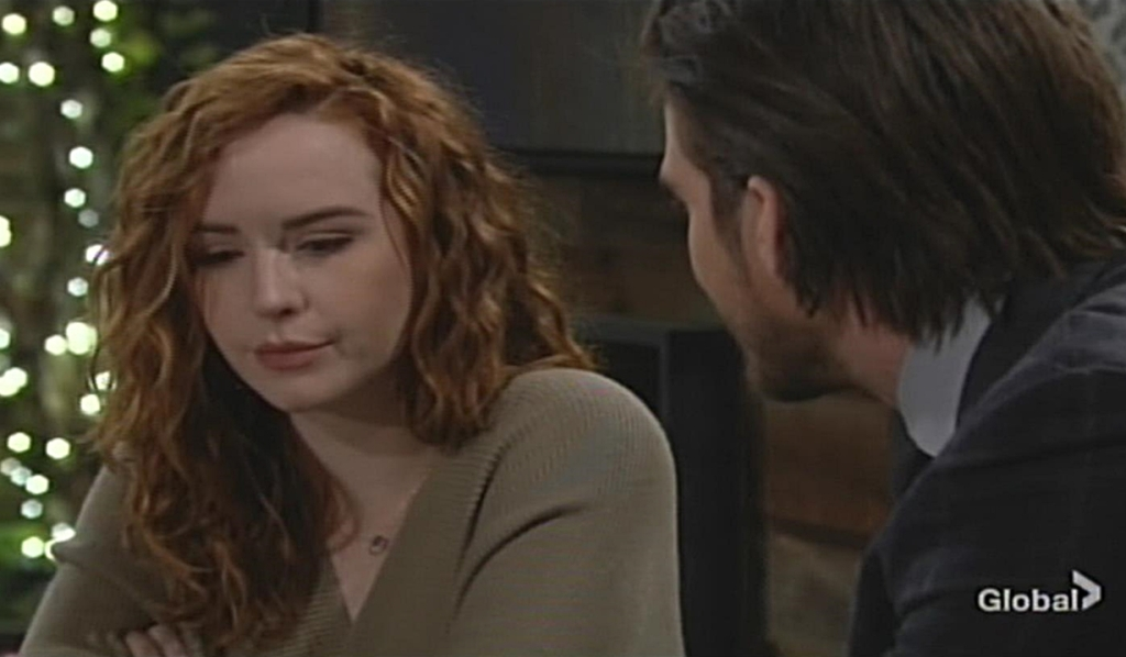 Mariah, Theo photo Young and Restless