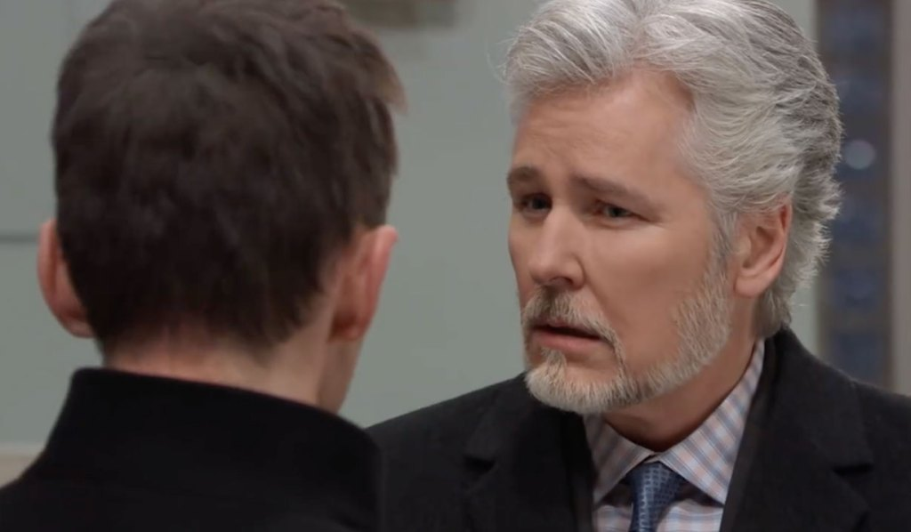 Martin hears Valentin out on General Hospital