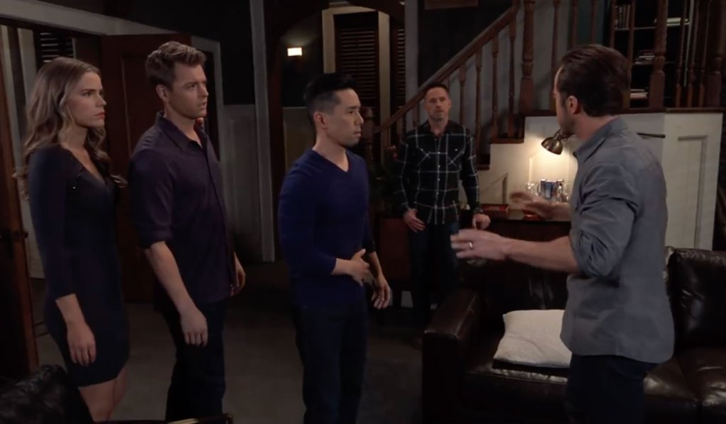 Lucas remembers the truth about Wiley on General Hospital