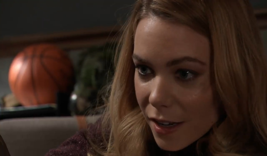 Nelle goes after Wiley at Quartermaine'sGeneral Hospital