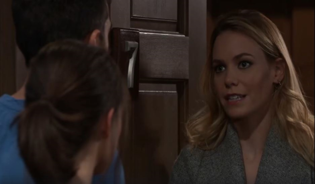 Nelle tells Chase and Willow about Lucas and Brad's plans General Hospital