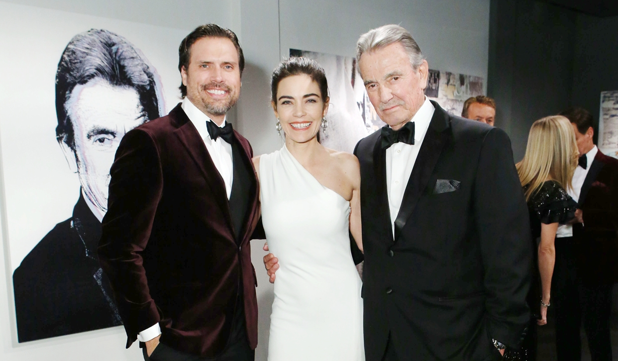 Nick, Victoria, Victor gala Young and Restless