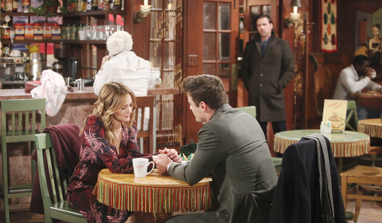 Nick spots Summer, Kyle Young and Restless