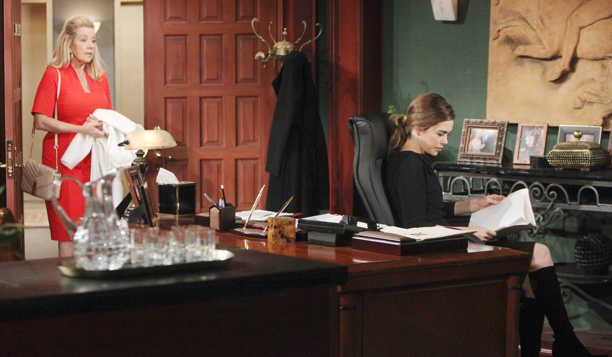 Nikki pays Victoria a visit Young and Restless