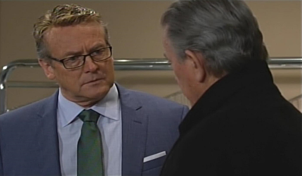 Paul, Victor update Young and Restless