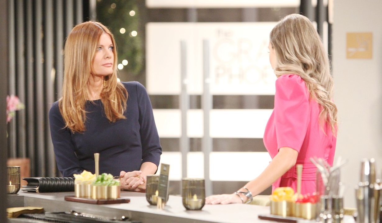 Phyllis, Abby talk Young and Restless