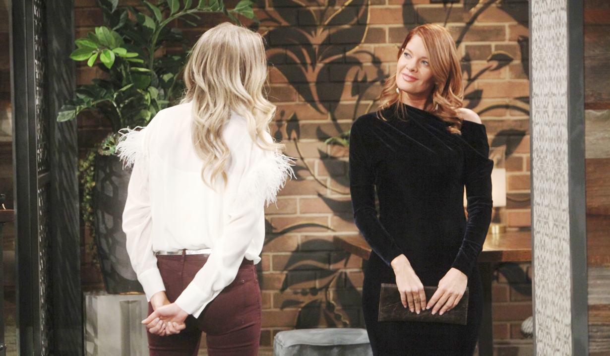 Phyllis, Abby needle Young and Restless