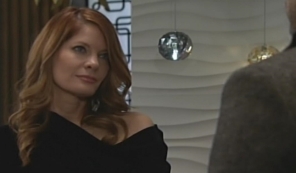 Phyllis warned by Nick Young and Restless