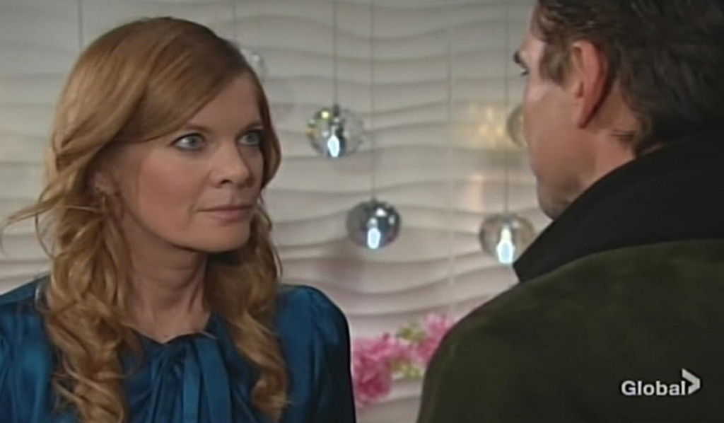 Phyllis warns Billy Young and Restless