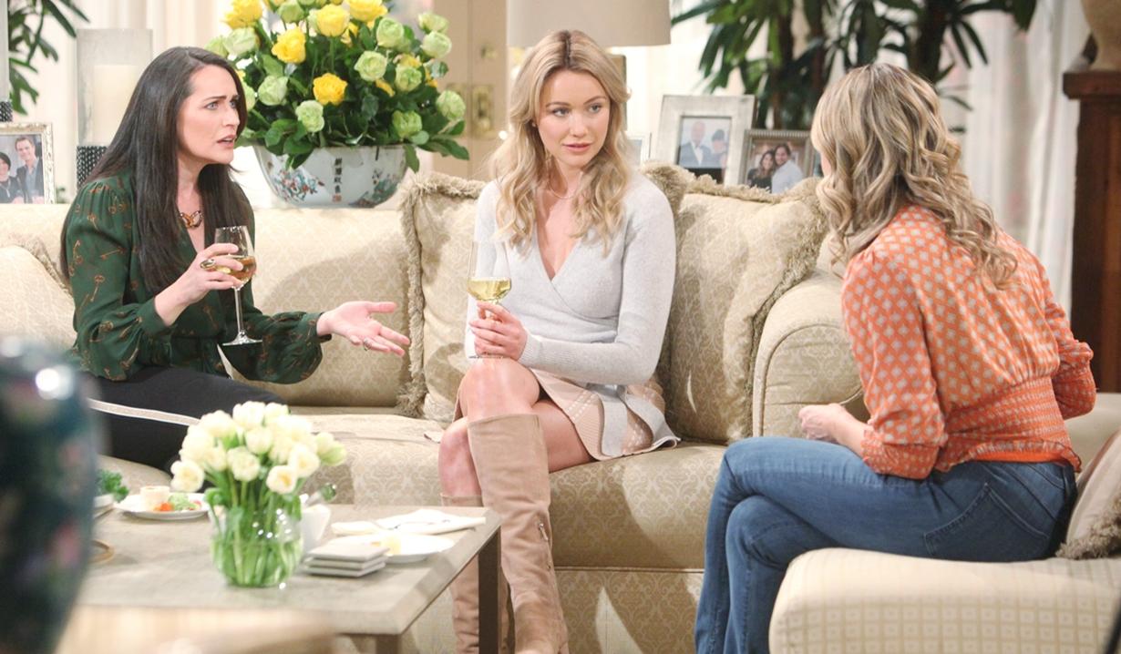 Quinn, Flo, Shauna discuss Sally Bold and Beautiful