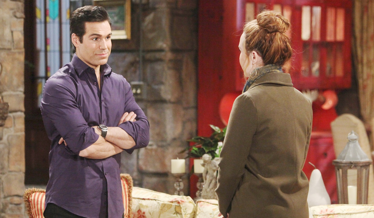 Rey, Mariah talk Young and Restless