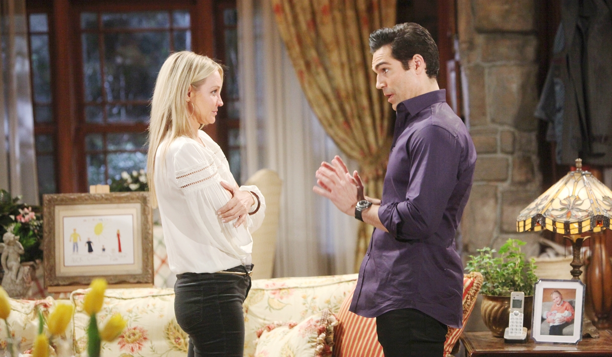 Rey, Sharon support Young and Restless