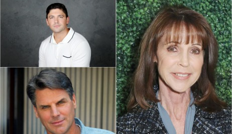 Robert Adamson, Meg Bennett, Robert Parucha return young and restless noah matt julia