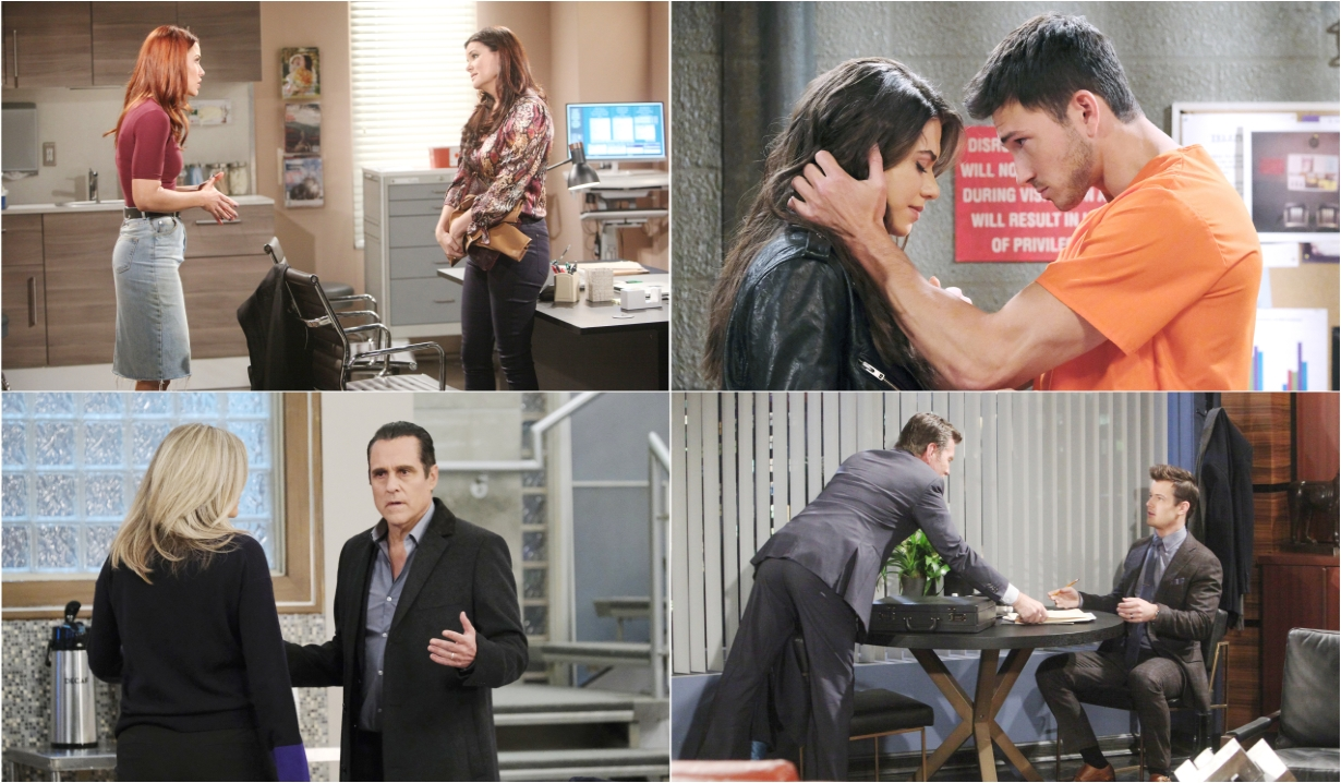 2-10-20 spoilers for bold and beautiful days of our lives general hospital young and restless