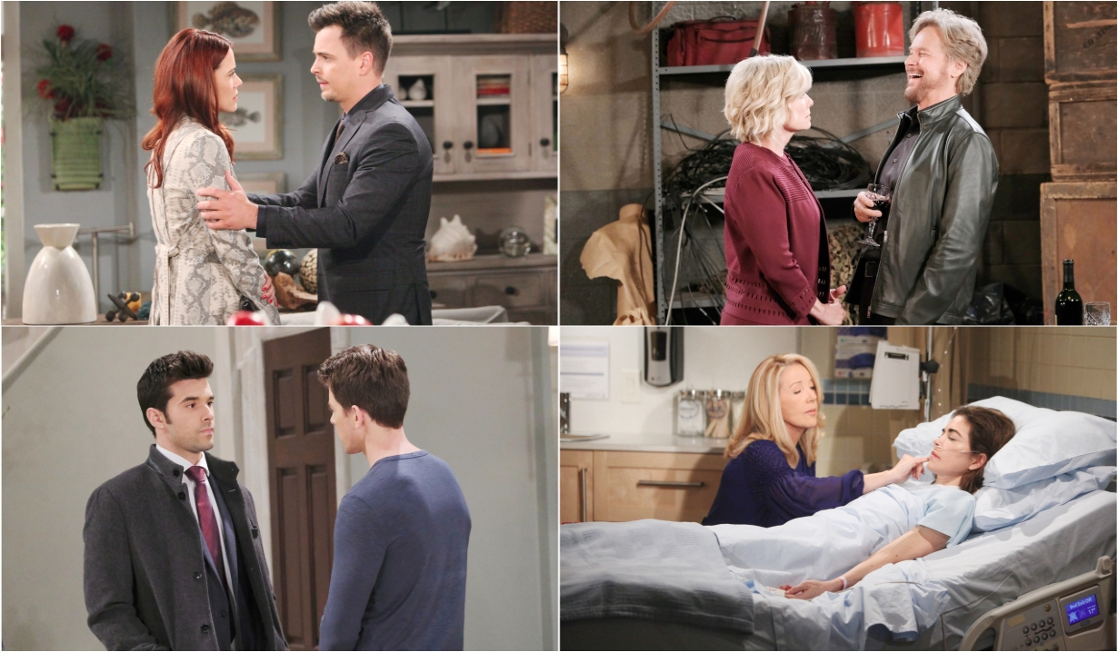3-1-20 spoilers for bold and beautiful days of our lives general hospital young and restless