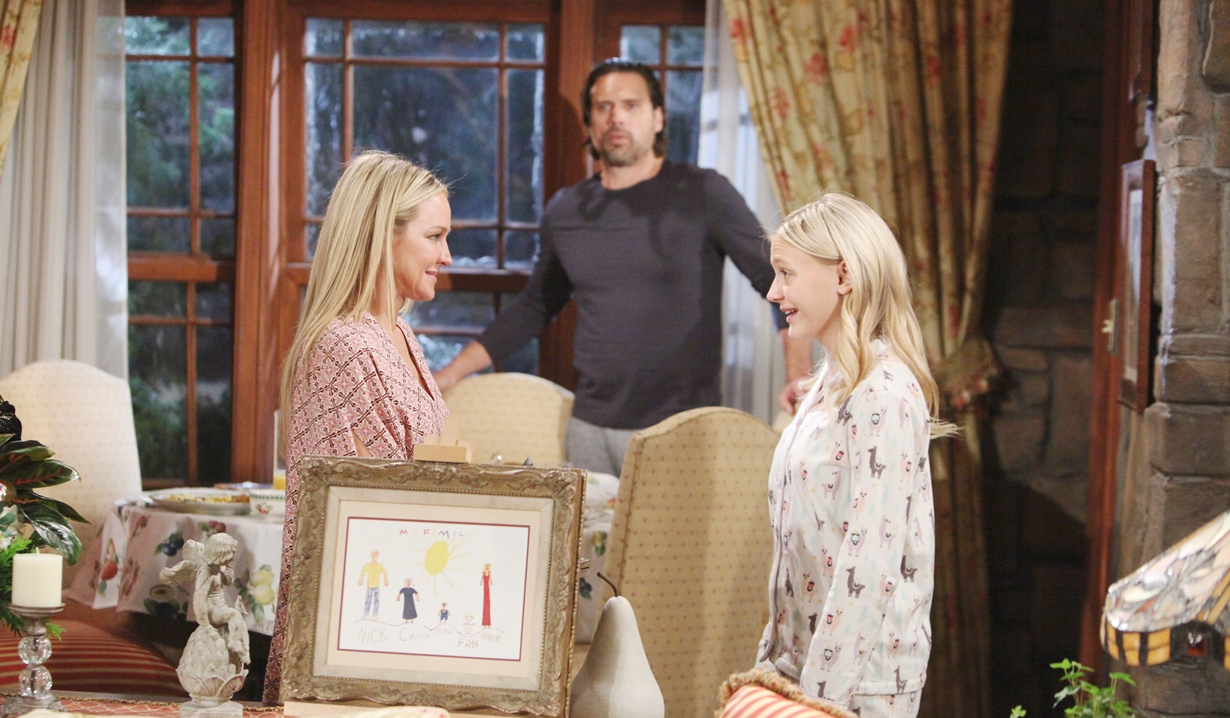 Sharon, Faith, Nick support Young and Restless