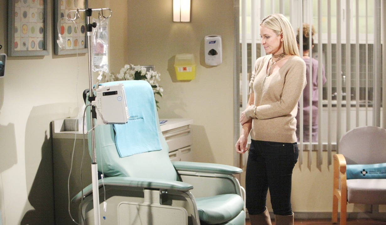Sharon chemo Young and Restless