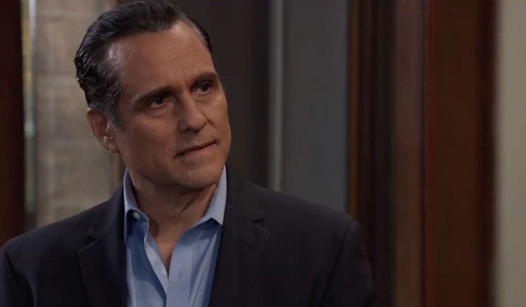 Sonny talks to Brando on General Hospital