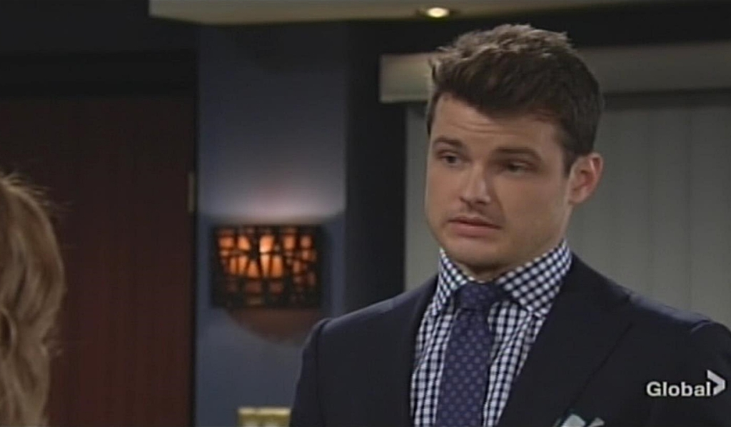 Summer, Kyle talk Young and Restless