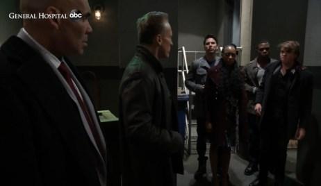 Taggert sees Trina and Cam captive at warehouse General Hospital