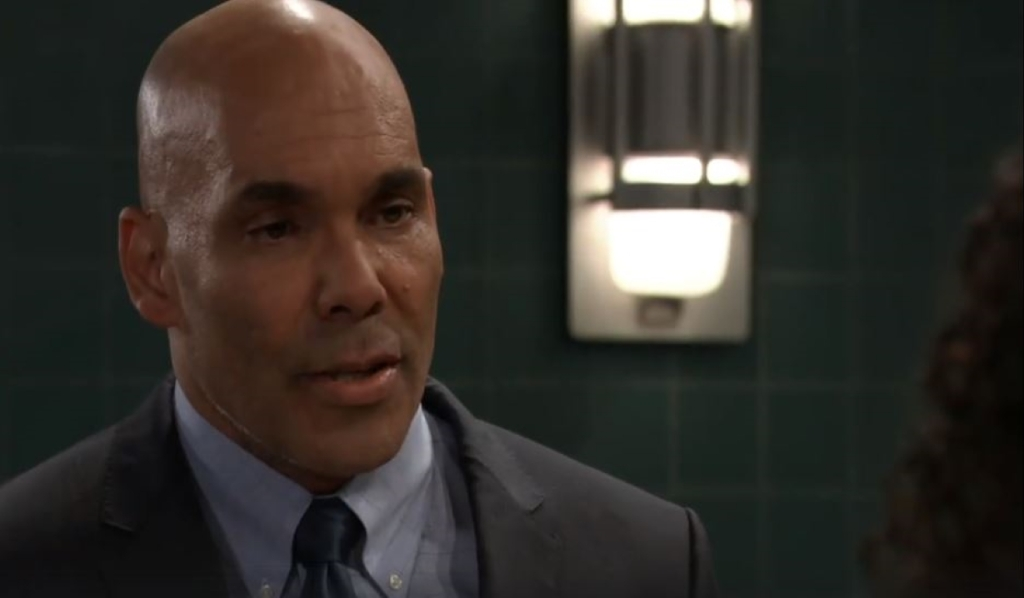 Taggert tells Jordan he's not out for justice at station General Hospital
