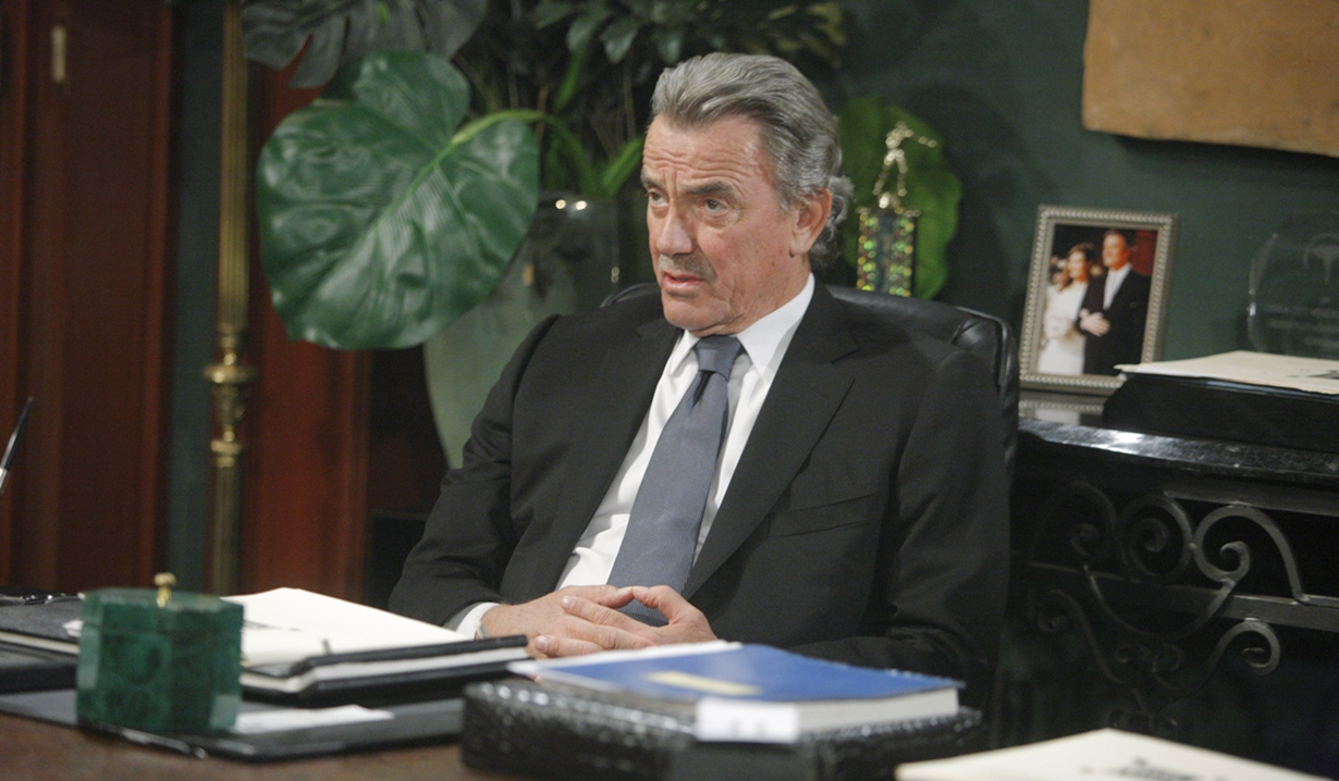 Victor in office Young and Restless