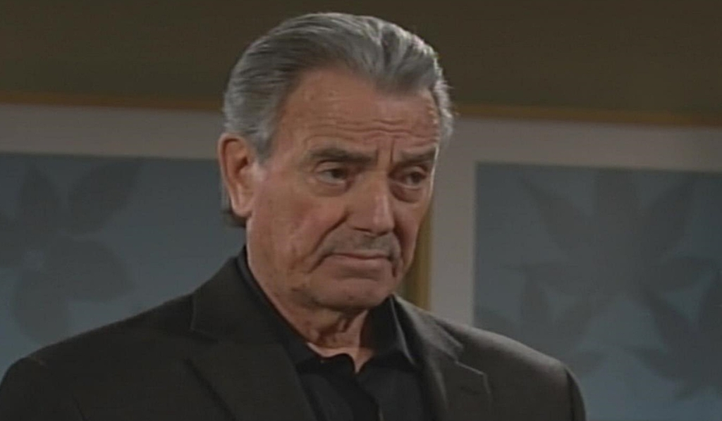 Victor talks to Nick Young and Restless