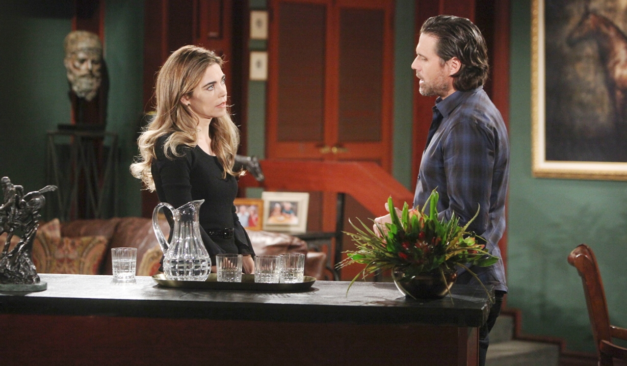 Victoria and Nick office Young and Restless