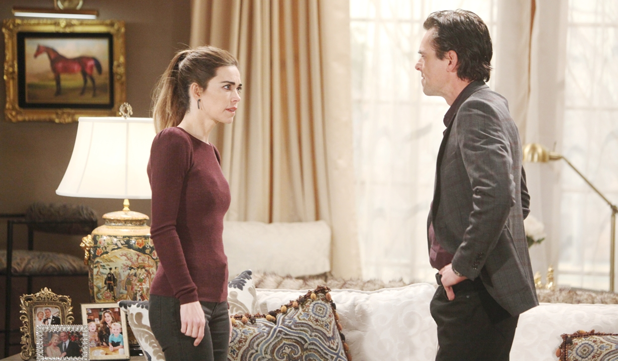 Victoria, Billy fight Young and Restless