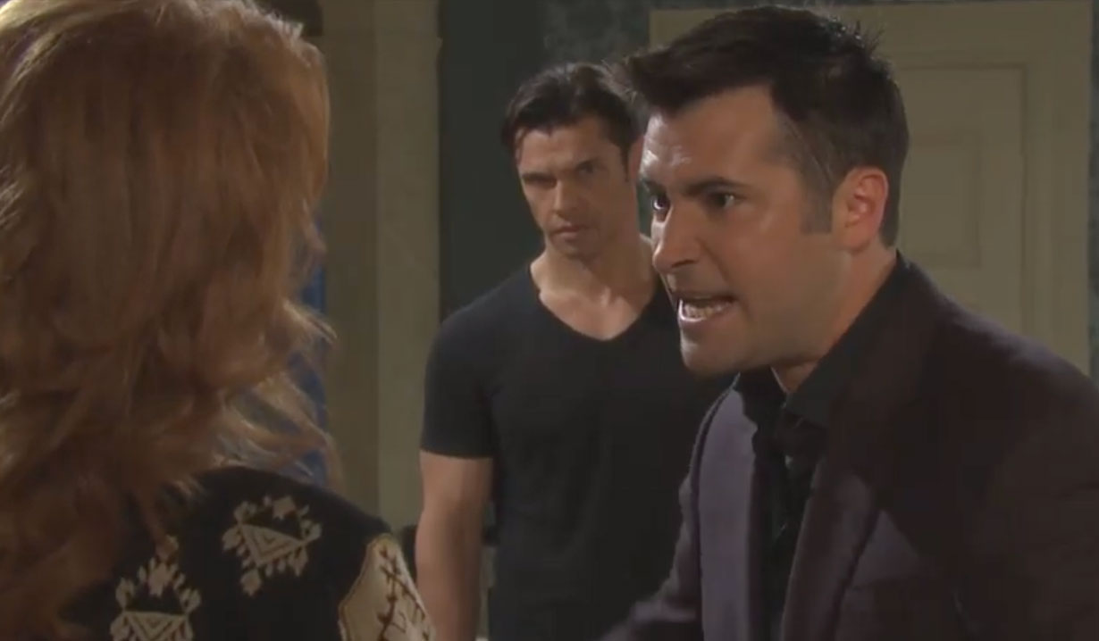 Sonny lashes out at Maggie on Days of our Lives