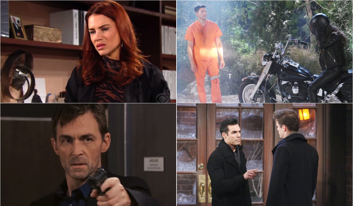 bold and beautiful days of our lives general hospital young and the restless roundup February 17