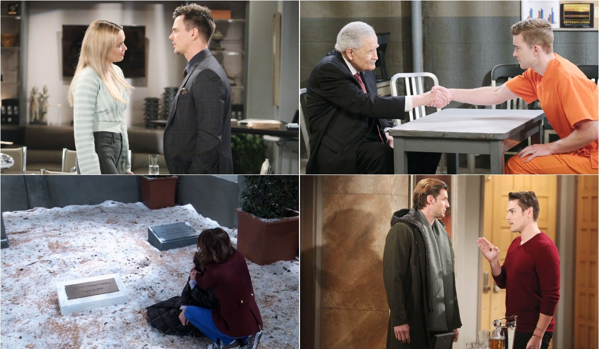 bold and beautiful days of our lives general hospital young and the restless roundup March 2
