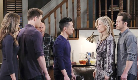 Brad appeals to Lucas on General Hospital