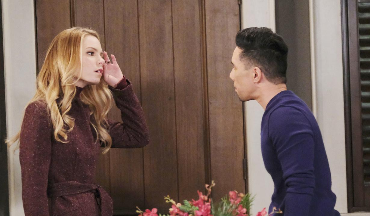Nelle makes Brad nervous on General Hospital