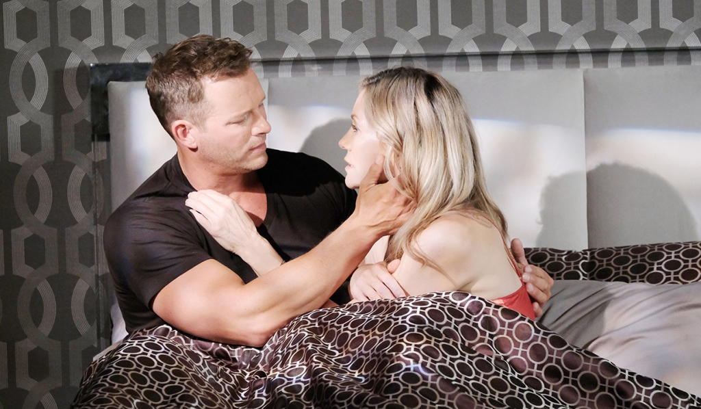 brady and kristen in bed days of our lives