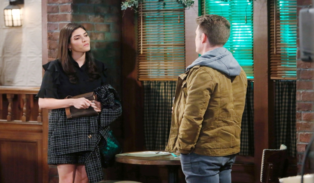 Dustin and Brook Lynn discuss their past at Charlie's General Hospital
