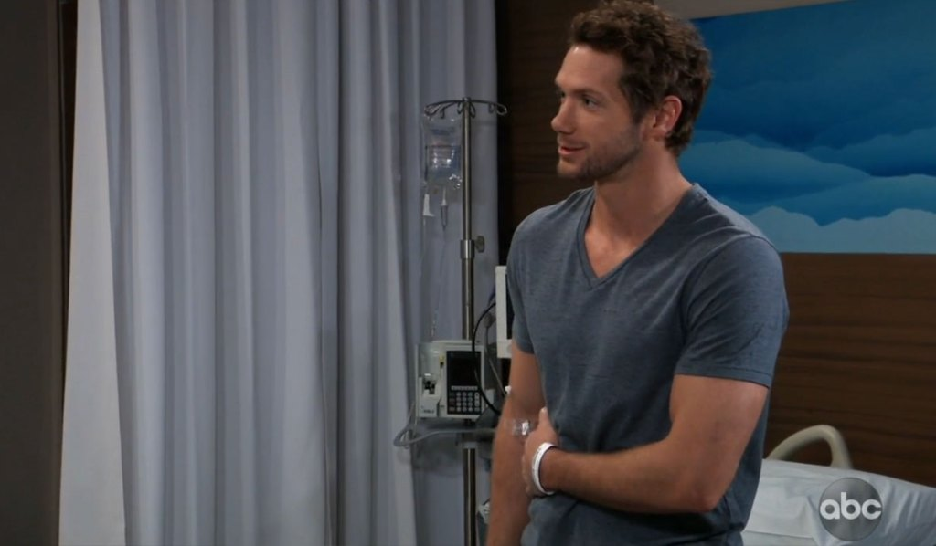 Carly questions Brando on General Hospital