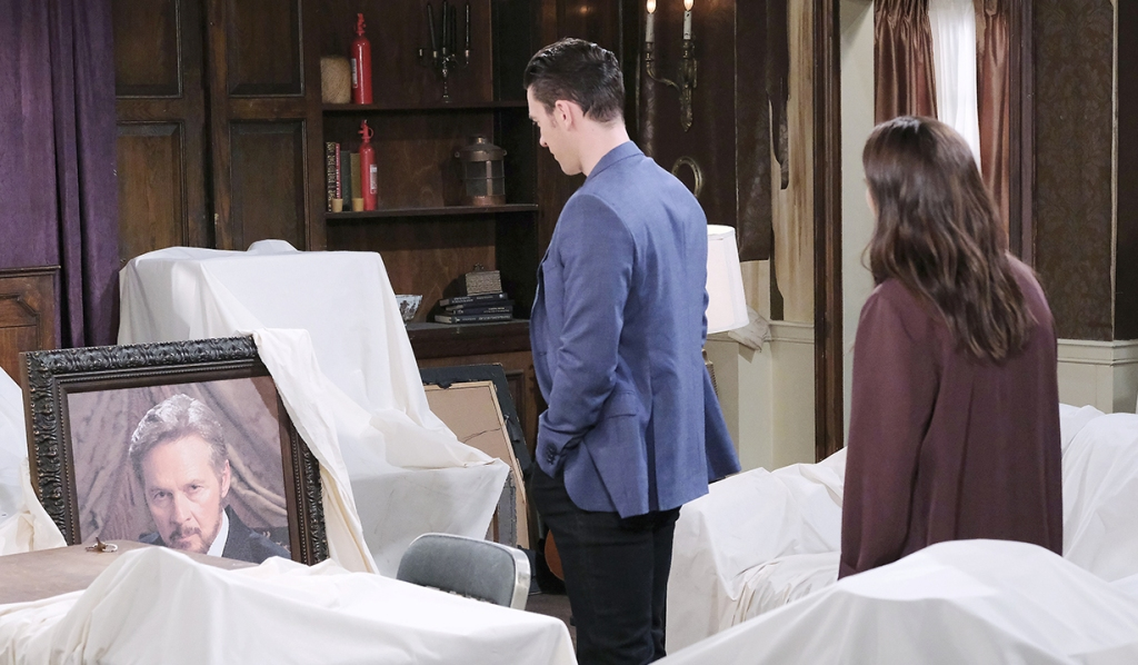 Chabby see Steve's portrait days of our lives
