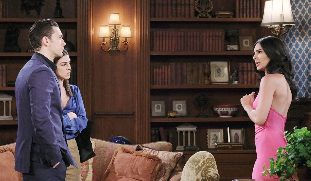 Chad and Abby confront Gabi days of our lives