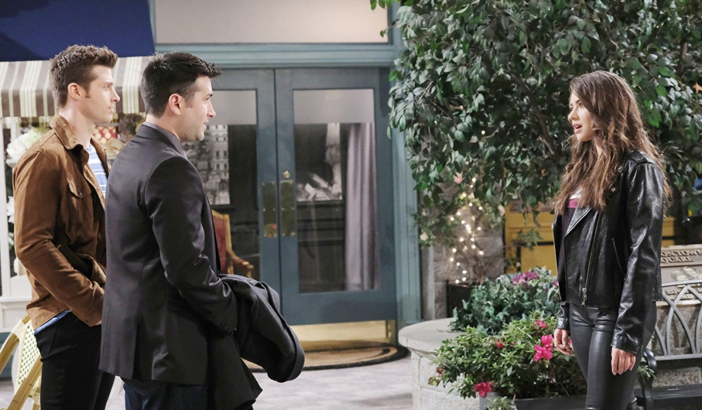 evan and sonny run into ciara days of our lives