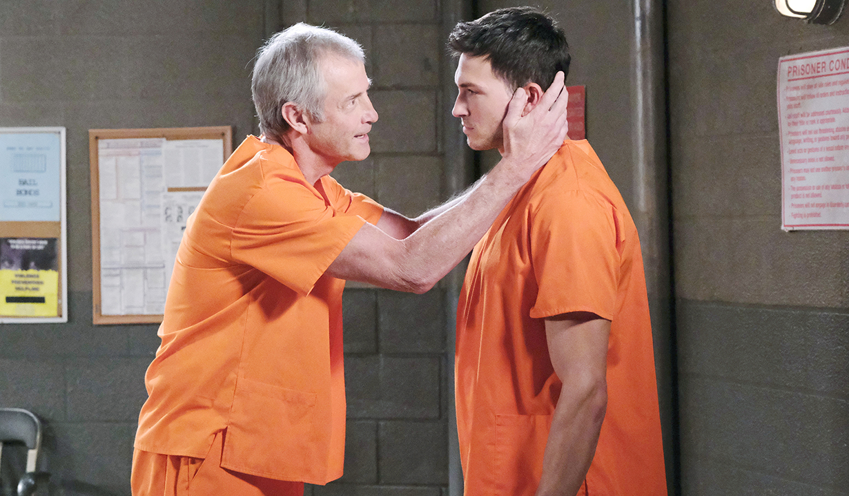 clyde tries convincing ben to go on the run days of our lives